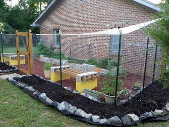 My Cinder Block Garden